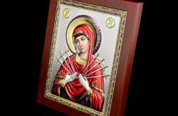 Икона Божьей Матери «Семистрельная»: значение, в чем помогает, куда вешать?