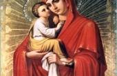 Икона Почаевской Божьей Матери: значение, в чем помогает, о чем ей молятся?